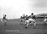 Kerry V Cork in the 1965 Munster football final in Cork..Picture by Donal MacMonagle..from the MacMonagle, Killarney photo archive.www.macmonagle.com