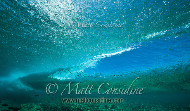 Wave Breaking on Coral, Palau Micronesia (Photo by Matt Considine - Images of Asia Collection)