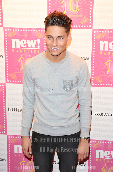 Joey Essex arriving for the New! Magazine - 10th birthday party held at Gilgamesh, London. 05/03/2013 Picture by: Henry Harris / Featureflash
