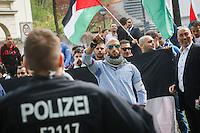 15-04-25 Palästina-Konferenz & Gegenprotest in Berlin