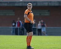 DVK Egem - Club Brugge Dames B :  scheidsrechter Lucas Delrue<br /> Foto David Catry | VDB | Bart Vandenbroucke