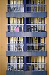 Predio de apartamentos no bairro Perdizes, Sao Paulo. Brasil. 2017. Foto de Juca Martins.