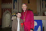 Confirmation in Donore Church..John Dunne and Bishop Smyth..Photo: Fran Caffrey/www.newsfile.ie...