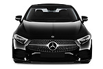 Car photography straight front view of a 2019 Mercedes Benz CLS Coupe AMG line 4 Door Sedan