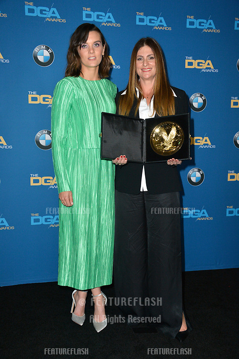 Frankie Shaw &amp; Niki Caro at the 70th Annual Directors Guild Awards at the Beverly Hilton Hotel, Beverly Hills, USA 03 Feb. 2018<br /> Picture: Paul Smith/Featureflash/SilverHub 0208 004 5359 sales@silverhubmedia.com