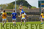 Kieran Murphy Glenflesk and Sean Sheehan Templenoe in action during the Intermediate Championship semi final in Fitzgerald Stadium on Sunday