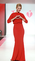 NEW YORK, NY February 08, 2018:Niki Taylor attend  American Heart Association's® Go Red For Women® Red Dress Collection® 2018 at Hammerstein Ballroom in New York. February 08, 2018. Credit:RW/MediaPunch