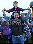 Emmett and Cormac Grogan celebrate Colmcilles win.  Colmcilles V Dunderry,  Meath Intermediate Final Replay at P&aacute;irc Tailteann, Navan.<br /> <br /> <br /> Photo - Jenny Matthews