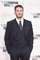 Sam Claflin at the London Film Festival 2017 screening of &quot;Journey's End&quot; at the Odeon Leicester Square, London, UK. <br /> 06 October  2017<br /> Picture: Steve Vas/Featureflash/SilverHub 0208 004 5359 sales@silverhubmedia.com