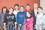 The Ballybunion youth club enjoying the KDYS games in Killarney on Sunday l-r: Liam Clarke, Stacey Higgins, John Lyons, Niall Carlin, Oscar Brophy, Rachel Hussey, Ray Dineen and Daniel Lonergan.