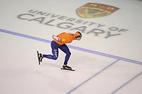 SPEEDSKATING: CALGARY: Olympic Oval, 01-12-2017, ISU World Cup, Sven Kramer 5k, ©photo Martin de Jong