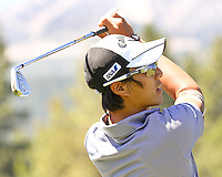 30 July 13 Japan's Ryo Ishikawa during early practice rounds at The Reno Tahoe Open at The Montreux Country Club in Reno, Nevada.  (photo:  kenneth e.dennis / kendennisphoto.com)