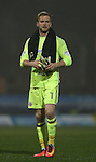 George Long of Sheffield Utd during the Checkatrade Trophy match at Blundell Park Stadium, Grimsby. Picture date: November 9th, 2016. Pic Simon Bellis/Sportimage