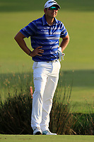 Dean Burmester (RSA) on the 18th fairway during the final round of the DP World Tour Championship, Jumeirah Golf Estates, Dubai, United Arab Emirates. 18/11/2018<br /> Picture: Golffile | Fran Caffrey<br /> <br /> <br /> All photo usage must carry mandatory copyright credit (© Golffile | Fran Caffrey)