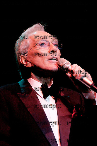 ANDY WILLIAMS (December 3, 1927 – September 25, 2012) - performing live at the Royal Albert Hall, London - 30 Jun 2005.  Photo credit: George Chin/IconicPix