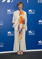 Annette Bening attends the jury photocall during the 74th Venice Film Festival at Palazzo del Cinema in Venice, Italy, on 30 August 2017. Photo: Hubert Boesl <br /> <br /> - NO WIRE SERVICE &middot; Photo: Hubert Boesl/dpa /MediaPunch ***FOR USA ONLY***
