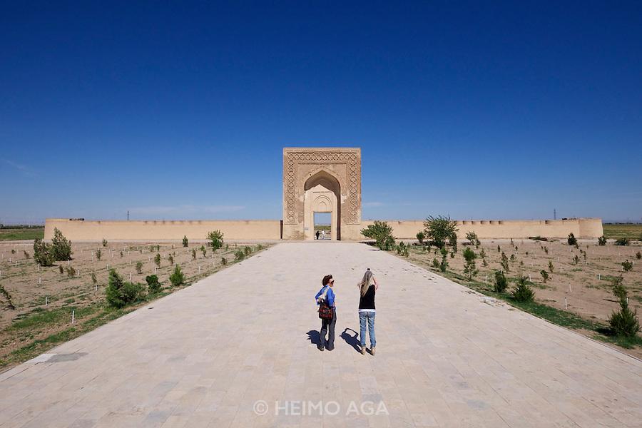 Uzbekistan, Navoiy Province. Rabati-Malik Caravanserai. On the UNESCO World Heritage Tentative List since 2008.
