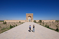 Uzbekistan, Navoiy Province. Rabati-Malik Caravanserai. On the UNESCO World Heritage Tentative List since 2008.