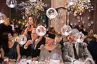 David Ginola &amp; H&eacute;l&egrave;ne S&eacute;gara : &quot; The Best &quot; 40th Edition &agrave; l'h&ocirc;tel George V.<br /> France, Paris, 27 janvier 2017.<br /> ' The Best ' 40th Edition at the George V hotel in Pais.<br /> France, Paris, 27 January 2017