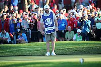Craig Wee Man Connelly at the 17th during the Saturday Afternoon Four-Balls, at the 41st Ryder Cup 2016, at Hazeltine National Golf Club, Minnesota, USA.  01View of the 10th2016. Picture: David Lloyd | Golffile.