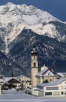 Europe/Autriche/Tyrol/Mutters: L'église