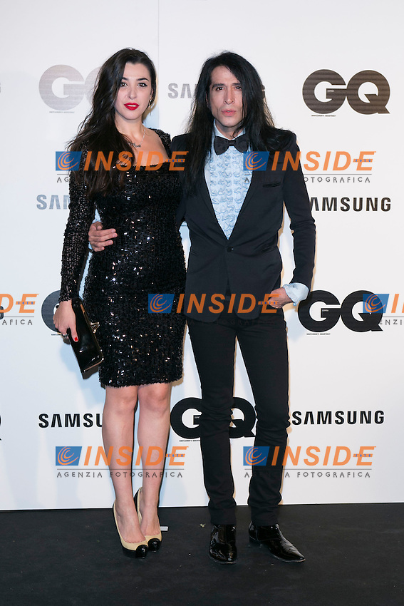 "Mario Vaquerizo and his Sister attends the ""GQ AWARDS"" at Palace Hotel in Madrid, Spain. November 3, 2014. (ALTERPHOTOS/Carlos Dafonte/Insidefoto)"