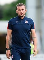 Stoke City manager Nathan Jones<br /> <br /> Photographer Chris Vaughan/CameraSport<br /> <br /> Football Pre-Season Friendly - Lincoln City v Stoke City - Wednesday July 24th 2019 - Sincil Bank - Lincoln<br /> <br /> World Copyright © 2019 CameraSport. All rights reserved. 43 Linden Ave. Countesthorpe. Leicester. England. LE8 5PG - Tel: +44 (0) 116 277 4147 - admin@camerasport.com - www.camerasport.com
