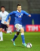 Fussball International  Freundschaftsspiel   14.11.2012 Italien - Frankreich Stephan El Shaarawy (Italien)