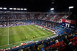 The Vicente Calderón Stadium is seen during the Copa del Rey 2016-17 Round of 16 match between Atletico de Madrid and UD Las Palmas on 10 January 2017 in Madrid, Spain. Photo by Diego Gonzalez Souto / Power Sport Images