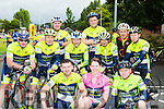 The Abbeyfeale cyclists at the Ring of the Reeks cycle in Beaufort on Saturday front l-r: Geard corridon, Patsy keane, tom Walsh, back l-r: Padraig o'Donnell, Brendan Brosnan, Liam Donovan, Michael Foley, Paul donovan, Mike Cahill, Liam Flynn, Gerard Ward