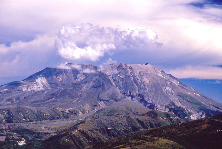 Mt. St. Helens, Mt. St. Helens National Volcanic Monument, Washington, US