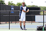 13 May 2016: Michigan head coach Adam Steinberg. The University of Michigan Wolverines played the East Tennessee State University Buccaneers at the Wake Forest Tennis Center in Winston-Salem, North Carolina in a 2015-16 NCAA Division I Men's Tennis Tournament First Round match. Michigan won the match 4-3.