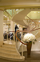 Staircase Ogilvy's Department store Montreal