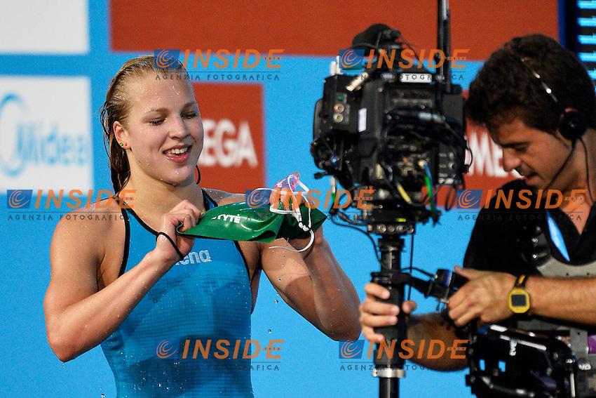 Ruta Meilutyte Lituania Women's 100m Breaststroke <br /> Swimming - Nuoto <br /> Barcellona 30/7/2013 Palau St Jordi <br /> Barcelona 2013 15 Fina World Championships Aquatics <br /> Foto Andrea Staccioli Insidefoto