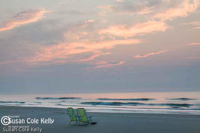 Beach sunrise, Huntington Beach State Park, SC