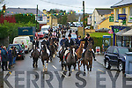 The Hunt passes through Currow village on Sunday   Copyright Kerry's Eye 2008