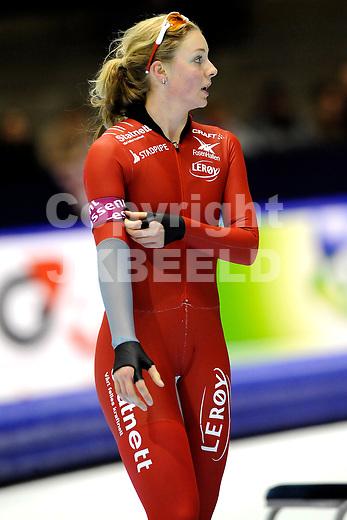 HEERENVEEN - Schaatsen, IJsstadion Tialf, World Cup, 2011-2012, 04-12-2011,  Ida Njatun