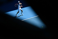 25th January 2020; Melbourne Park, Melbourne, Victoria, Australia; Australian Open Tennis, Day 6; Dominic Thiem during his win over Taylor Fritz of USA