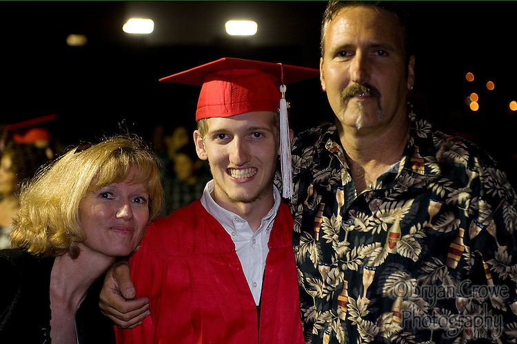 06/17/10, Fullerton Ca.; My baby Connor graduates from Fullerton Union High School.
