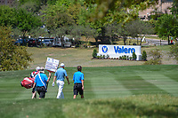 Padraig Harrington (IRL) heads down 18 during day 1 of the Valero Texas Open, at the TPC San Antonio Oaks Course, San Antonio, Texas, USA. 4/4/2019.<br /> Picture: Golffile | Ken Murray<br /> <br /> <br /> All photo usage must carry mandatory copyright credit (© Golffile | Ken Murray)
