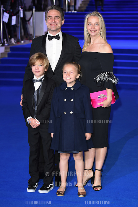 "LONDON, UK. December 12, 2018: Joel Dawson at the UK premiere of ""Mary Poppins Returns"" at the Royal Albert Hall, London.<br /> Picture: Steve Vas/Featureflash"