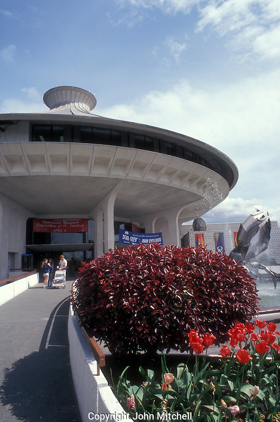 The H.R MacMillan Planetarium and Vancouver Museum in Vancouver, British Columbia, Canada
