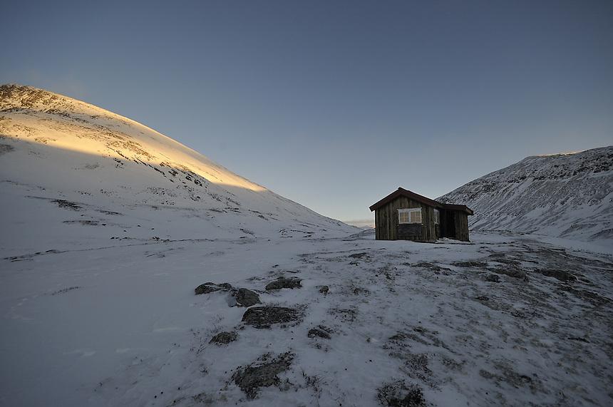 Winter on Dovre mountain,Norway Landscape, landskap,