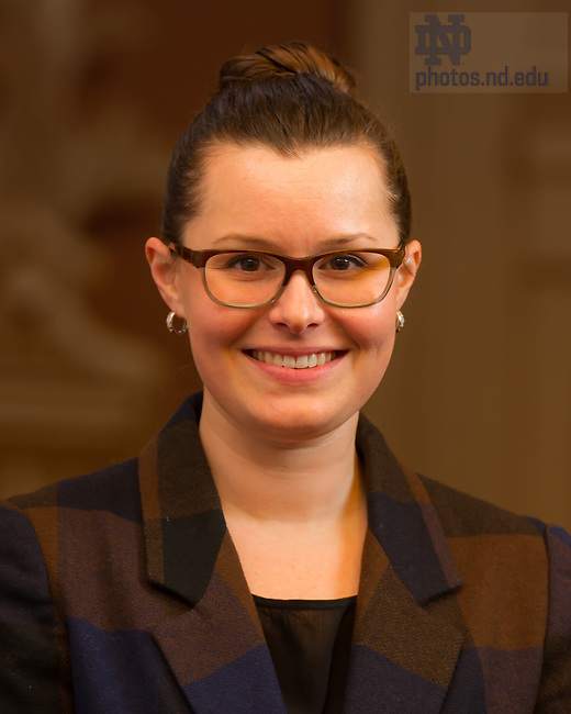 Dec. 10, 2013; Auxiliary Services senior staff: Jess O'Hearn<br /> <br /> Photo by Matt Cashore/University of Notre Dame