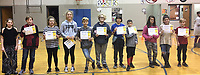 Photo Submitted<br /> Sixth grade AB Honor Roll students for the first semester are (left), Zibbi Woffard, Brady Bogart, Kimberli Philpott, Keila Bailey, Rylee Anderson, Lillian Heithaus, Hayden Lett, Kainon Sheppard, Connie Reeves, Eliora Steele, and Kyle Thomas. Not pictured are Stacy Lubbess and Emily Mann.