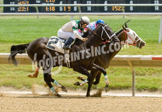 Rescator winning at Delaware Park on 6/13/12