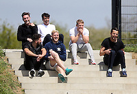 Pictured TOP L-R: Matt Grimes, Jack Cork, Jay Fulton, Lukasz Fabianski, David Cornell (FRONT RIGHT) Thursday 21 May 2015<br />
