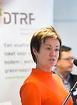 ZANDVOORT - GOLF -Maria Strandberg, Zweedse Golf Federatie. DTRF (Dutch Turfgrass Research Foundation)  congres. COPYRIGHT KOEN SUYK