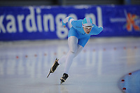 SCHAATSEN: GRONINGEN: Sportcentrum Kardinge, 02-02-2013, Seizoen 2012-2013, Gruno Bokaal, Marrit Leenstra, ©foto Martin de Jong