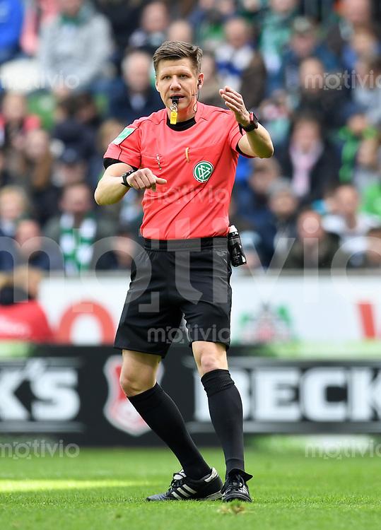 FUSSBALL     1. BUNDESLIGA      31. SPIELTAG    SAISON 2016/2017  SV Werder Bremen - Hertha BSC Berlin                          29.04.2017 Schiedsrichter Patrick Ittrich